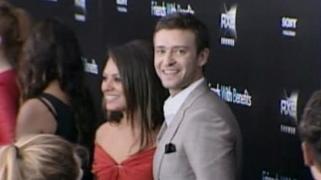 Mila Kunis Justin Timberlake Deny Racy Photos Abc News