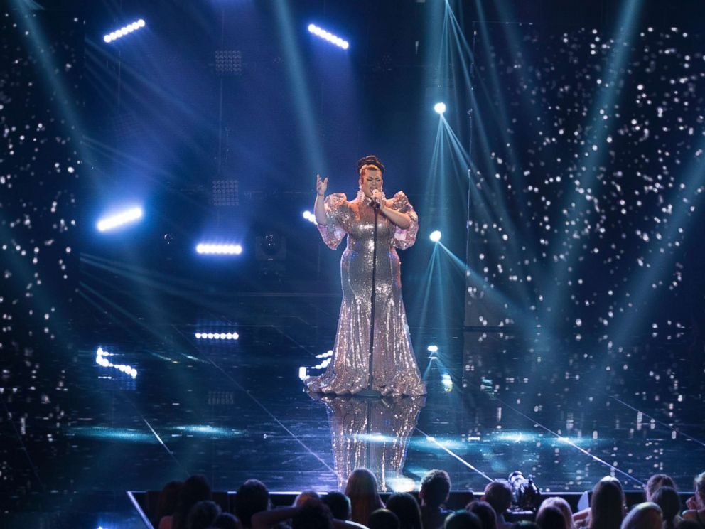 PHOTO: Ada Vox performs on American Idol, as the search for Americas next superstar continues on its new home on Americas network, The ABC Television Network, April 23, 2018.