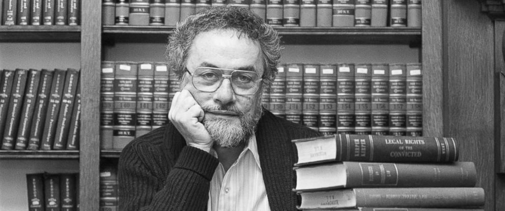 PHOTO: Philadelphia: Adrian Cronauer, the former Vietnam disk jockey that Robin Williams played in the box office smash Good Morning Vietnam, looks over the pile of law books at the University of Pennsylvania, Feb. 1, 1988.