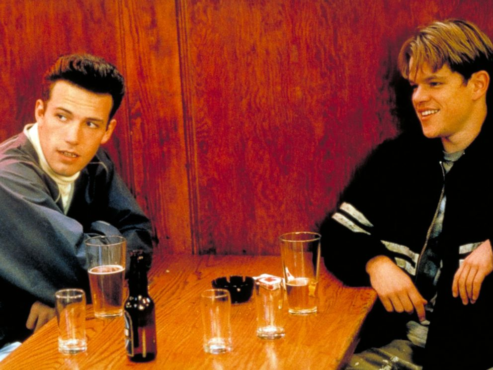 PHOTO: Ben Affleck and Matt Damon in Good Will Hunting, 1997.