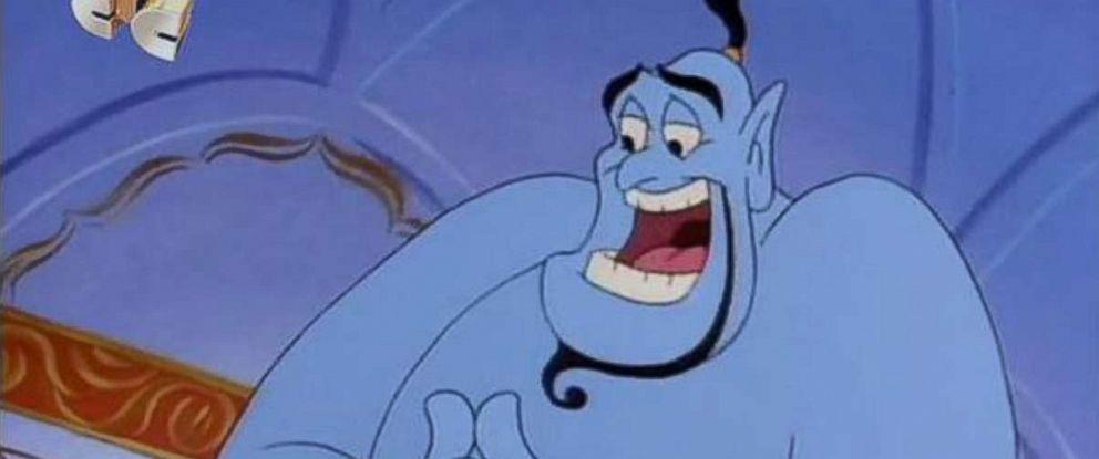 "PHOTO: Dan Castellaneta in the animated TV series ""Aladdin,"" 1994."
