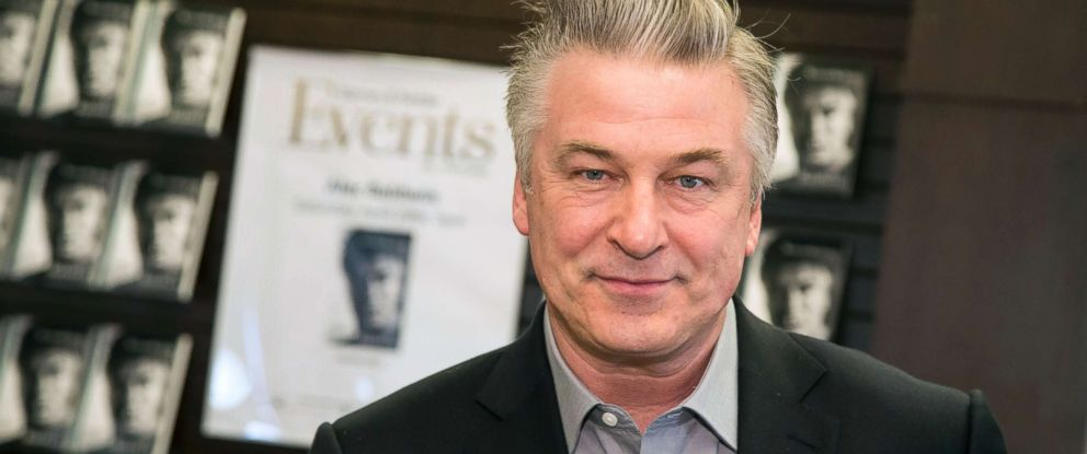 "PHOTO: Alec Baldwin signs his book ""Nevertheless: A Memoir"" at Barnes & Noble at The Grove, April 29, 2017, in Los Angeles."