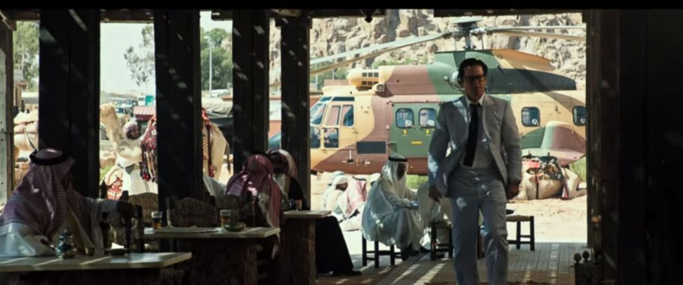 "PHOTO: A scene from the official trailer ""All the Money in the World."""