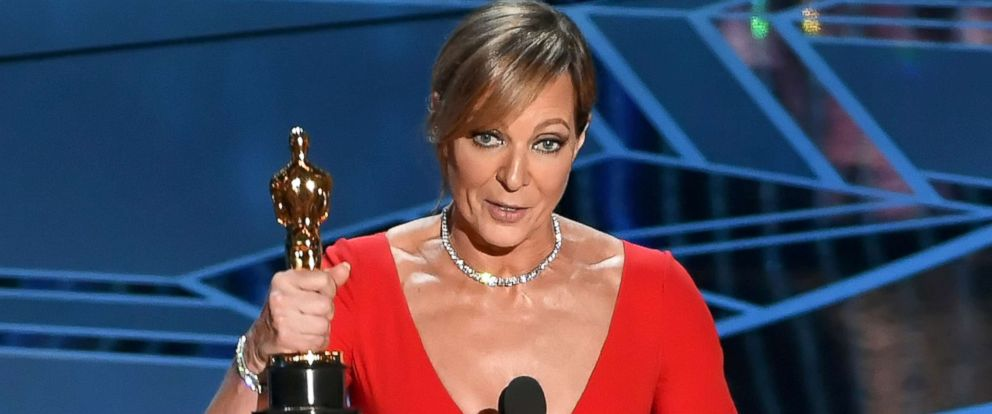 PHOTO: Actor Allison Janney accepts Best Supporting Actress for I, Tonya onstage during the 90th Annual Academy Awards at the Dolby Theatre at Hollywood & Highland Center on March 4, 2018 in Hollywood, California.