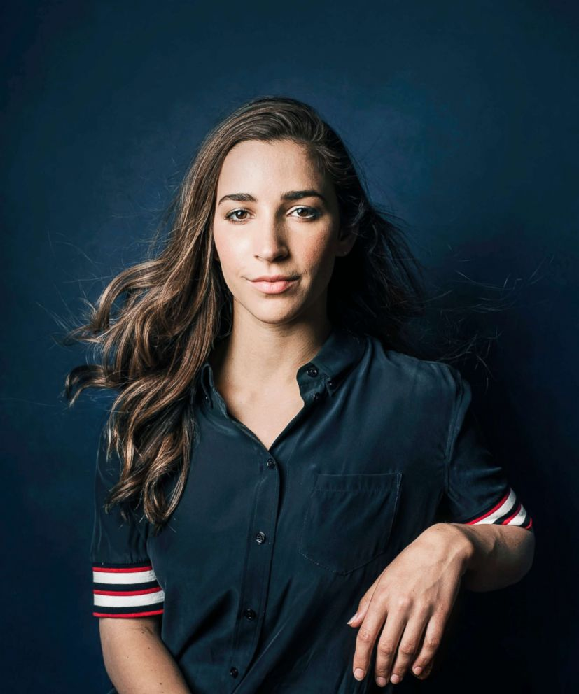 Olympic champion aly raisman reflects on her fight to end sexual photo aly raisman is photographed for the cover of the espn heroes issue at california m4hsunfo