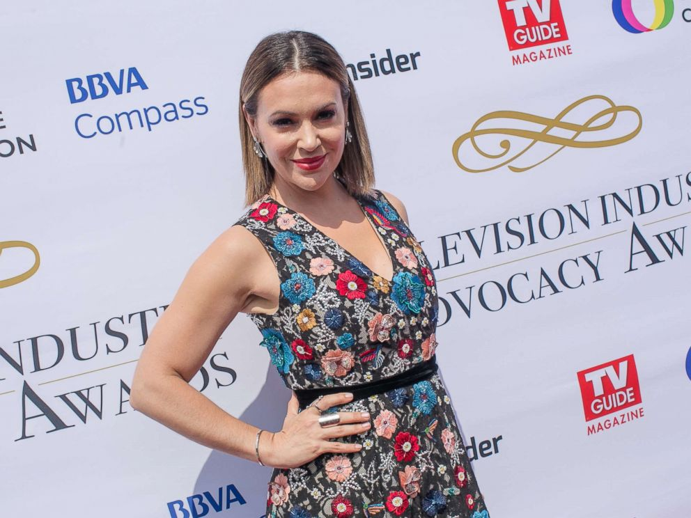 PHOTO: Alyssa Milano arrives to the Television Industry Advocacy Awards at TAO Hollywood, Sept. 16, 2017, in Los Angeles.