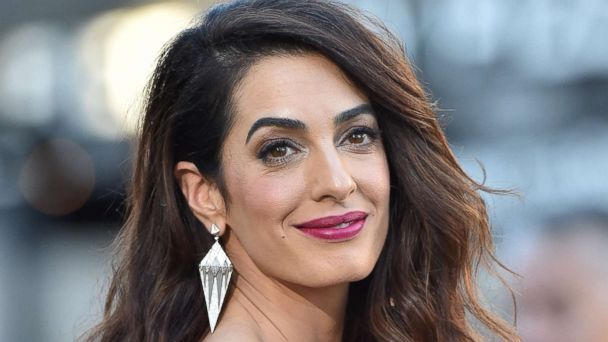 Amal Clooney reveals her twins' 1st words and talks about her life with George