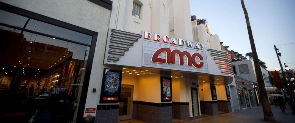 PHOTO: An AMC Entertainment Inc. movie theater stands in Santa Monica, Calif., Feb. 27, 2018.