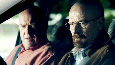 """PHOTO: Bryan Cranston earned a nod for his role as a terminal cancer patient turned drug kingpin in the AMC drama series """"Breaking Bad."""""""