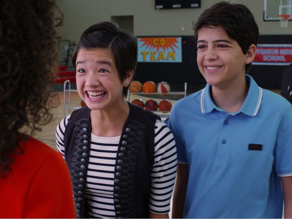 PHOTO: Peyton Elizabeth Lee and Joshua Rush in a scene from Disney Channels Andi Mack.