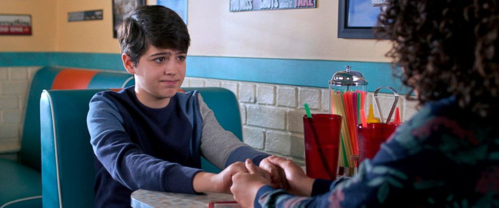 "PHOTO: Joshua Rush in a scene from Disney Channels ""Andi Mack."""