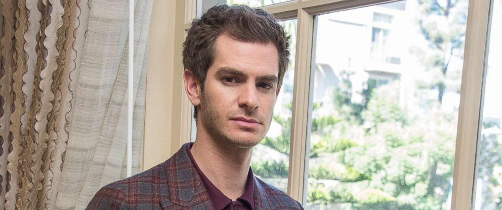 """PHOTO: Andrew Garfield at the """"Breathe"""" Press Conference at the Four Seasons Hotel, Oct. 16, 2017 in Beverly Hills."""
