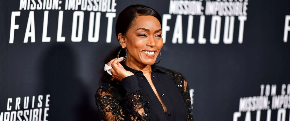 """PHOTO: Angela Bassett attends the """"Mission: Impossible - Fallout"""" premiere at the Smithsonian National Air & Space Museum, July 22, 2018, in Washington, D.C."""