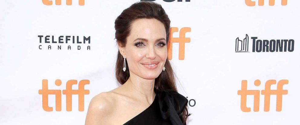 """PHOTO: Angelina Jolie arrives to the """"First They Killed My Father: A Daughter of Cambodia Remembers"""" premiere, Sept. 11, 2017, in Toronto, Canada."""
