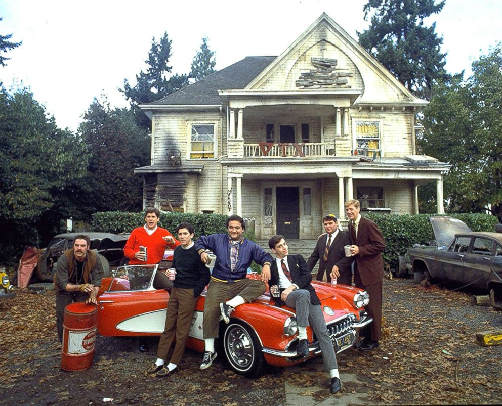 PHOTO: John Belushi, Tom Hulce, Tim Matheson, Stephen Furst, Bruce McGill, Peter Riegert, and James Widdoes appear in Animal House.