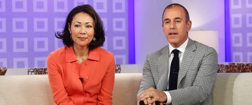 "PHOTO: Ann Curry and Matt Lauer appear on NBC News ""Today"" show in this June 19, 2012 file photo."