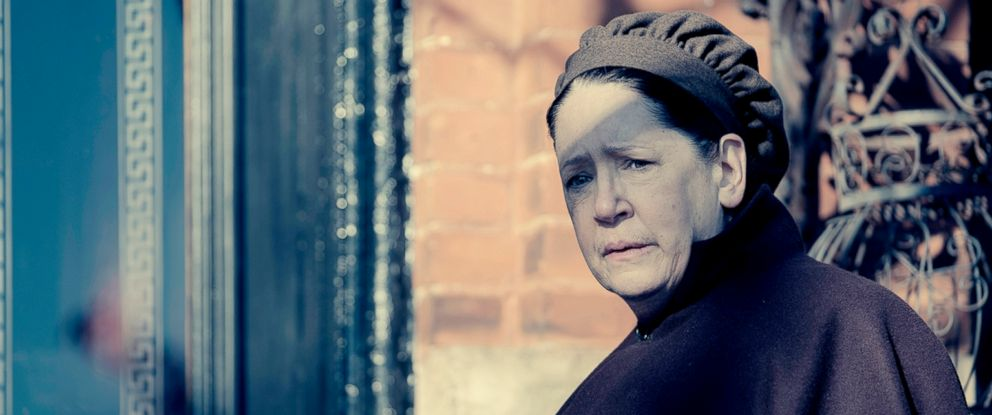 "PHOTO: Ann Dowd appear in a scene from ""The Handmaids Tale."""