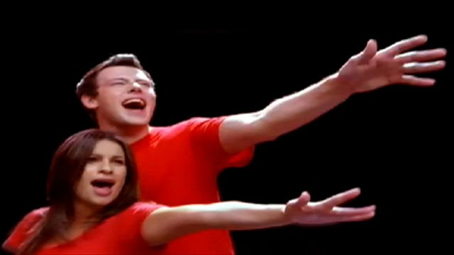VIDEO: Scene from the Fox show 'Glee.'