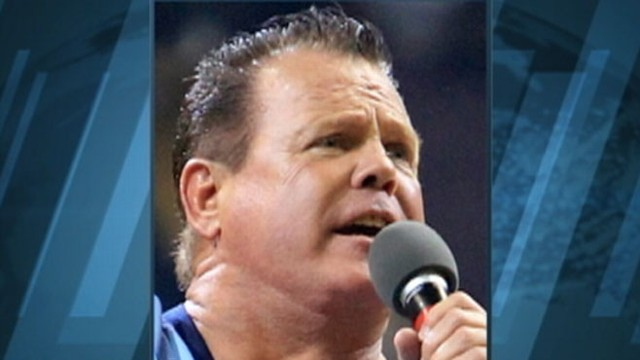 VIDEO: Former wrestler and WWE commentator had heart attack at the announcers table.