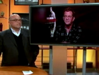 VIDEO: Mel Gibson curses at reporyter during live TV interview.