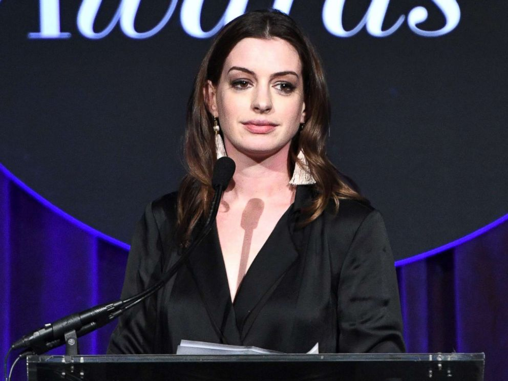 Anne Hathaway hits out at body shamers in advance