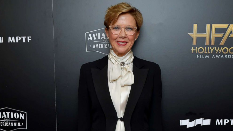 Actor Annette Bening poses in the press room during the 21st Annual Hollywood Film Awards at The Beverly Hilton Hotel, Nov. 5, 2017, in Beverly Hills, Calif.