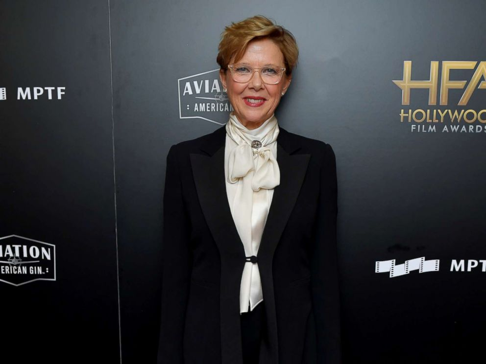 PHOTO: Actor Annette Bening poses in the press room during the 21st Annual Hollywood Film Awards at The Beverly Hilton Hotel, Nov. 5, 2017, in Beverly Hills, Calif.