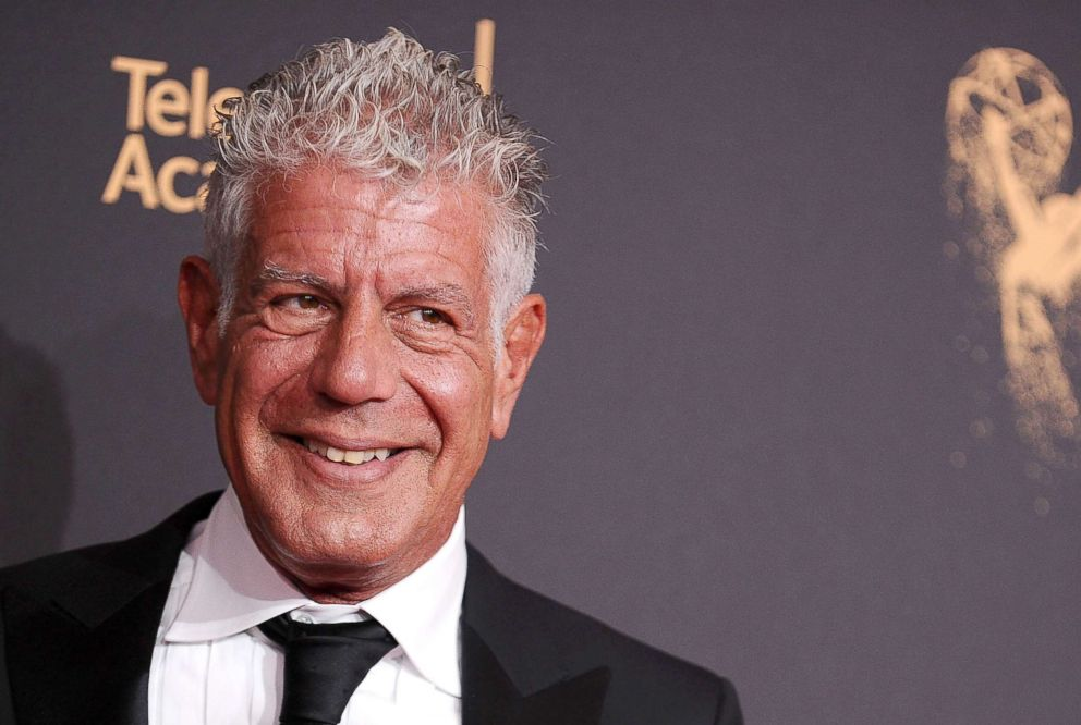 PHOTO: Anthony Bourdain attends the 2017 Creative Arts Emmy Awards at Microsoft Theater, Sept. 9, 2017, in Los Angeles.