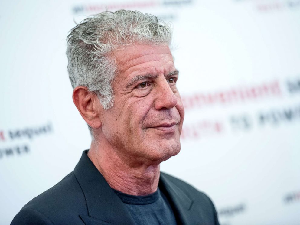 PHOTO: Anthony Bourdain attends An Inconvenient Sequel: Truth To Power New York screening at the Whitby Hotel, July 17, 2017, in New York City.