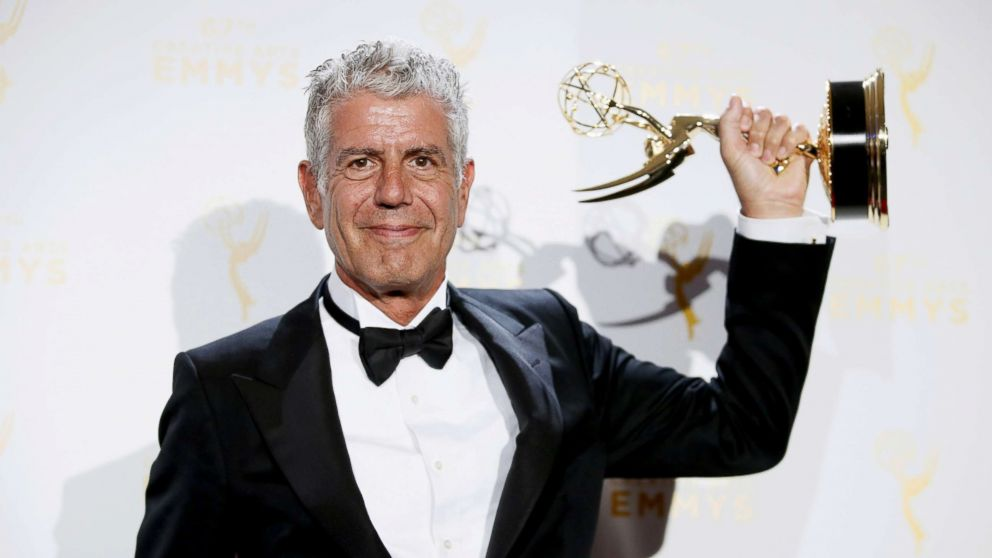 Anthony Bourdain posthumously nominated for 2018 Emmy