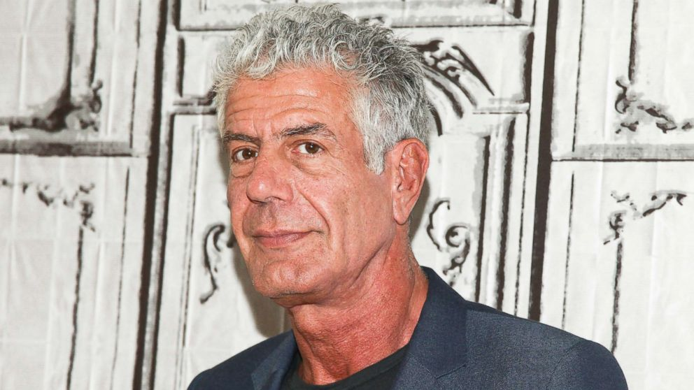 Anthony Bourdain in New York in this Nov. 2, 2016 file photo.
