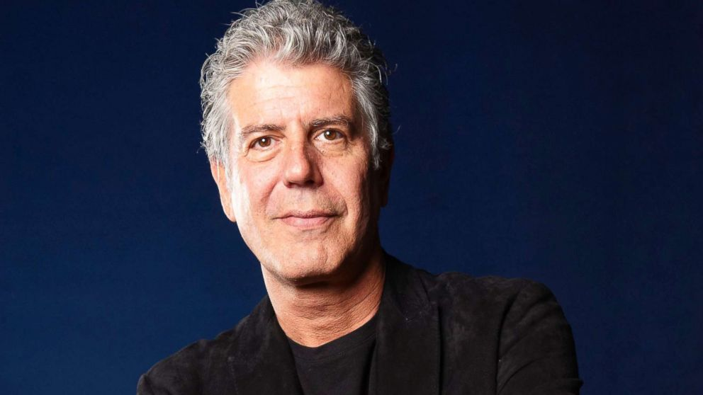 Anthony Bourdain, American Chef and writer at The Edinburgh International Book Festival in 2010.