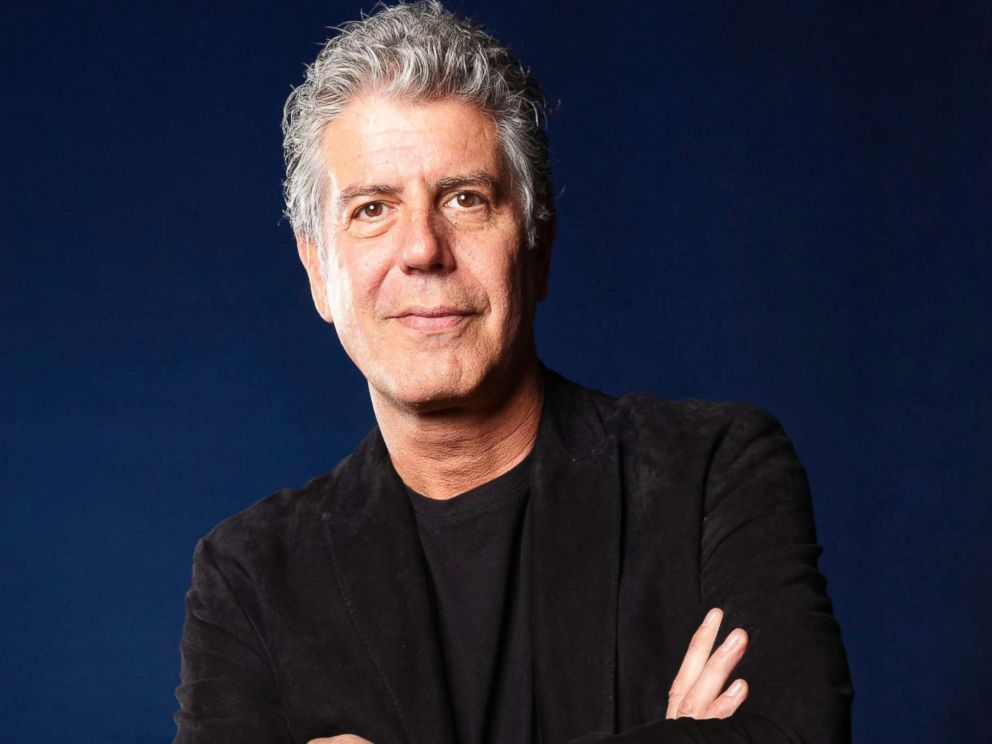 PHOTO: Anthony Bourdain, American Chef and writer at The Edinburgh International Book Festival in 2010.