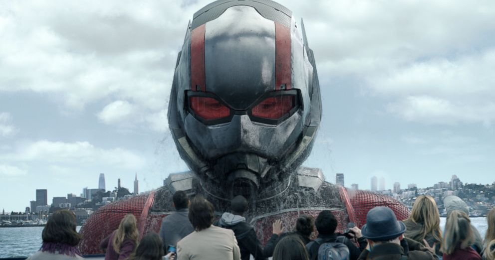 PHOTO: Paul Rudd in a scene from Ant-Man and The Wasp.