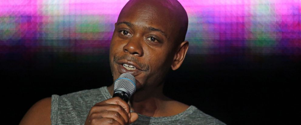 PHOTO: Dave Chappelle performs at the Essence Festival in New Orleans, July 6, 2014. Chappelle teamed up with John Mayer to remember late comedian Charlie Murphy at Mayers concert in Columbus, Ohio, on April 12, 2017.