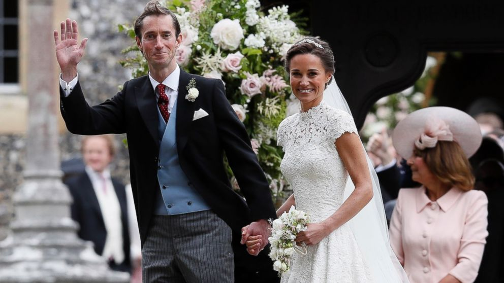 New Details On Pippa Middleton's Wedding Reception