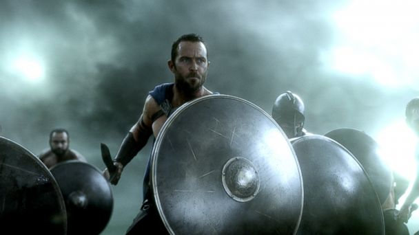 "PHOTO: This image released by Warner Bros. Pictures shows Sullivan Stapleton in ""300: Rise of an Empire."""