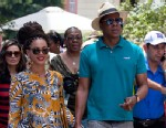PHOTO: Beyonce and her husband, rapper Jay-Z, hold hands as they tour Old Havana, Cuba, April 4, 2013.