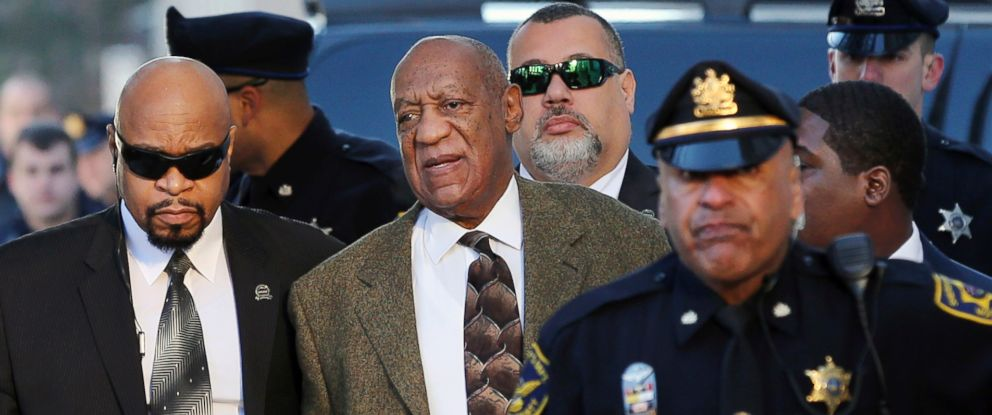 PHOTO: Bill Cosby arrives for a court appearance, Feb. 2, 2016, in Norristown, Pa.