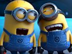 PHOTO: This file photo provided by Universal Pictures shows the minion characters in the film Despicable Me 2.