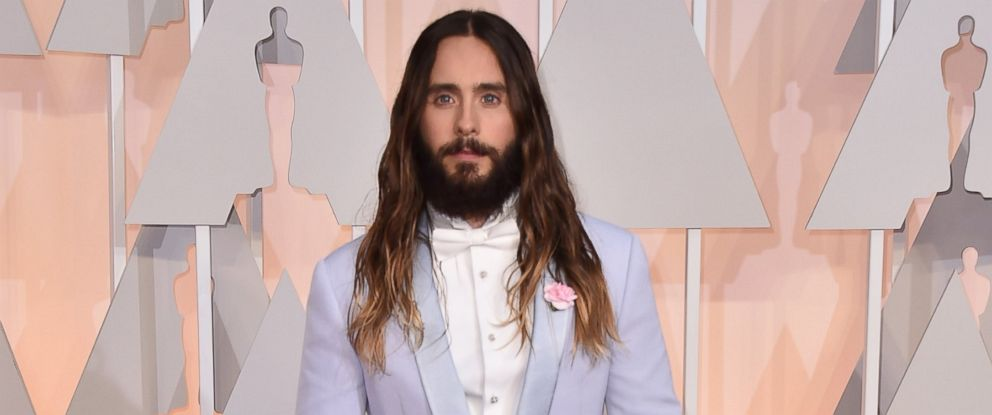 PHOTO: Jared Leto is a celeb thats known to wear makeup on the red carpet.