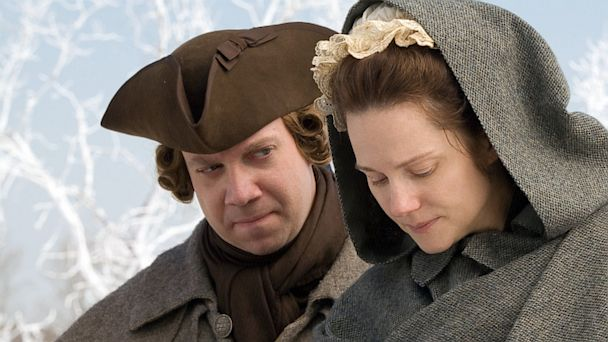 PHOTO: Paul Giamatti and Laura Linney in John Adams