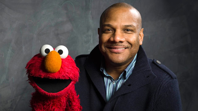 "PHOTO:""Sesame Street"" puppeteer Kevin Clash poses for a portrait during the 2011 Sundance Film Festival to promote the film ""Being Elmo"" in Park City, Utah."