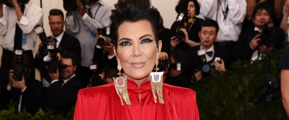 "PHOTO: Kris Jenner arrives at The Metropolitan Museum of Arts Costume Institute benefit gala celebrating ""China: Through the Looking Glass,"" May 4, 2015, in New York."