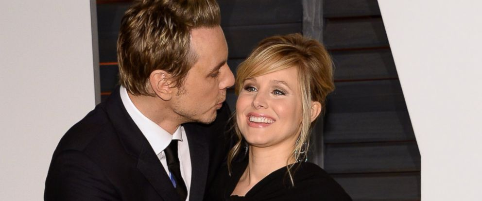 PHOTO: Dax Shepard and Kristen Bell arrive at the 2015 Vanity Fair Oscar Party on Feb. 22, 2015 in Beverly Hills, Calif.