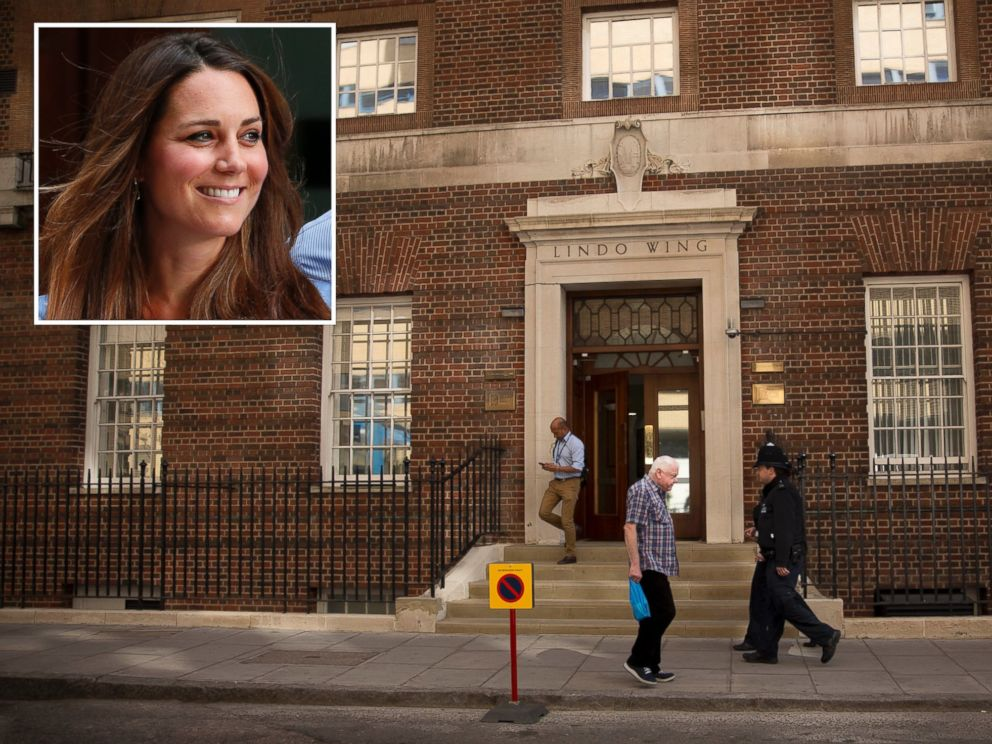 PHOTO: Duchess Kate is expected to deliver her second child at the private Lindo wing of St. Marys Hospital in London, pictured on April 17, 2015.