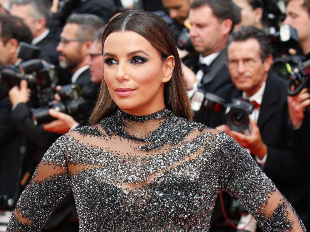PHOTO: Eva Longoria at the 70th Anniversary Gala red carpet during the 70th Cannes Film Festival at the Palais des Festivals on May 23, 2017 in Cannes, France.