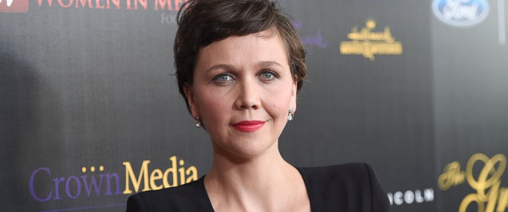 PHOTO: Maggie Gyllenhaal arrives at the 40th Anniversary Gracies Awards at the Beverly Hilton Hotel, May 19, 2015, in Beverly Hills, Calif.