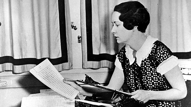 PHOTO: An undated photo of 'Gone With The Wind' author Margaret Mitchell in Atlanta.