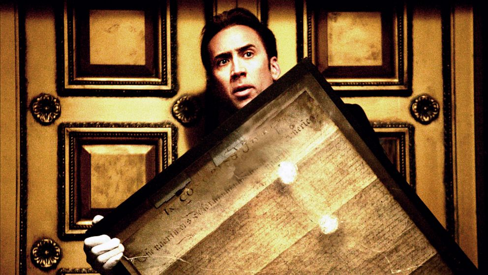 "PHOTO: Nicolas Cage in ""National Treasure"""